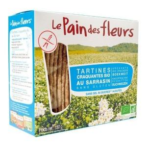 Κράκερς φαγόπυρο χωρίς γλουτένη Le Pain des fleurs 150γρ.