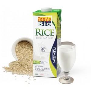 Φυτικό ρόφημα μέ βάση τό ρύζι 1L isolaBio
