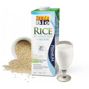 Φυτικό ρόφημα ρυζιού με προσθήκη ασβεστίου 1L isolaBio