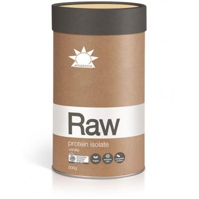 Πρωτείνη RAW Isolate 500g Vanilla - Amazonia