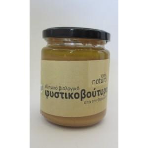 Φυστικοβούτυρο Ελληνικό βιολογικό natural 250γρ.