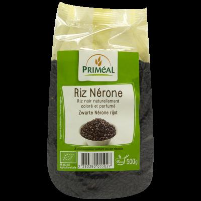 Ρύζι πλήρες μαύρο Nerone ΒΙΟ 500γρ.