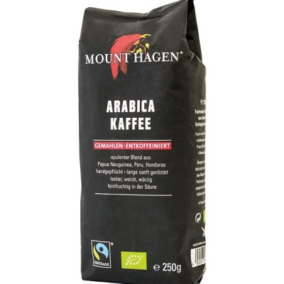 Καφές φίλτρου Mount Hagen χωρίς καφείνη Bio 250γρ.