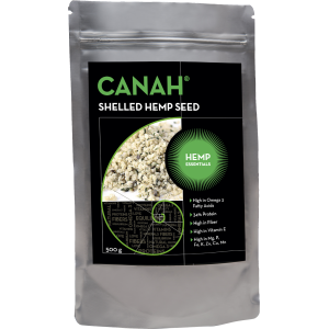 Σπόροι Κάνναβης αποφλοιωμένοι CANAH Bio (300γρ)
