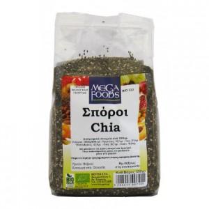Βιολογικοί σπόροι Chia 350gr