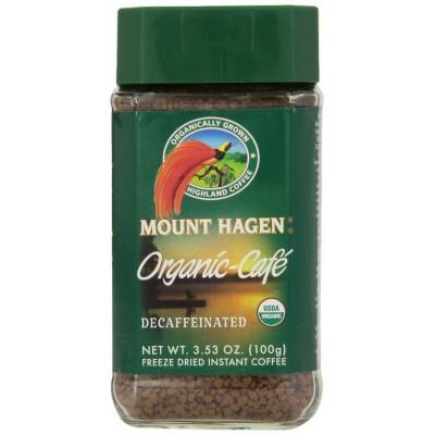 Καφές στιγμιαίος Mount Hagen χωρίς καφείνη Bio 100gr.