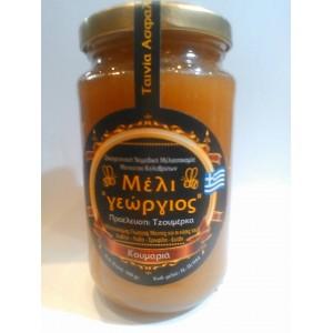"""Μέλι κουμαριάς """"γεώργιος""""500γρ"""