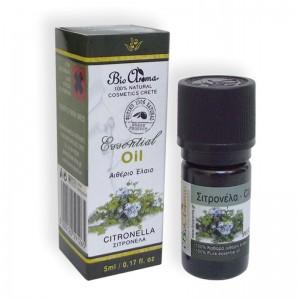 Αιθέριο Έλαιο Σιτρονέλα Bio Aroma 5ml